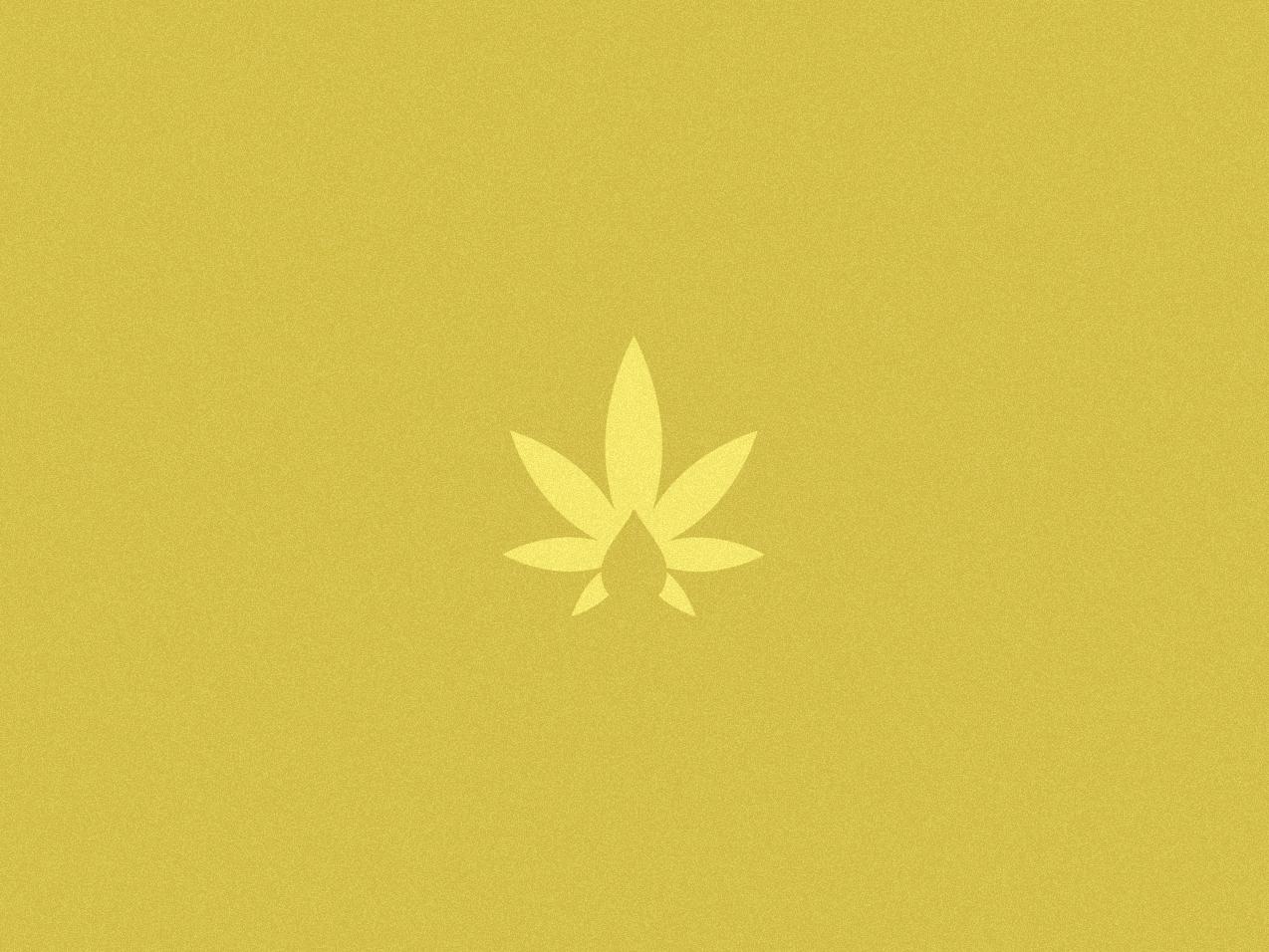 Cannabis Medical logo monogram freelance design branding cannabis logo cannabis branding cannabis