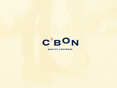 C'bon Quality Footwear logo typography freelance designer branding design branding shoes footwear