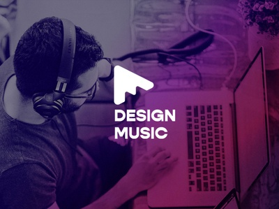 Design Music monogram freelance logotypes logotype designer brand design branding music