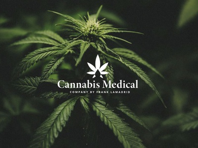Cannabis Medical cannabis branding cannabis logo branding design logotype brand identity designer design cannabis branding