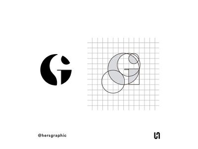 Letter G monogram logo logotype logodesign logo branding design brand branding designer design letter monogram