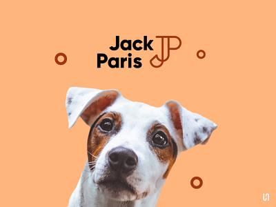 JackParis Pet Shop dog logo logodesign logotype monogram branding design design designer brandign brand dog pet