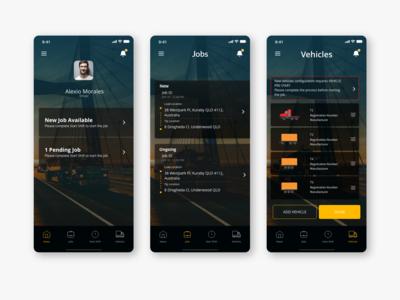 Truck Logistic App