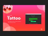 Tattoo UI Design