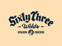 Sixty Three blackletter