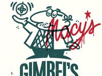Gimbels vs Macys