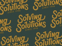 Solving Solutions