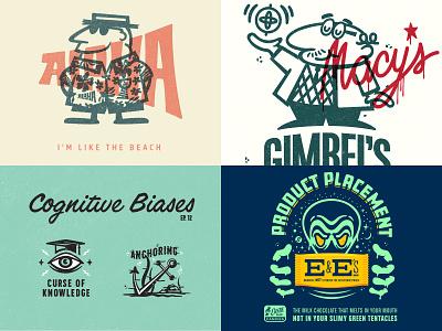 Four/2018 advertising logo design illustration typography hand lettered branding type lettering hand lettering