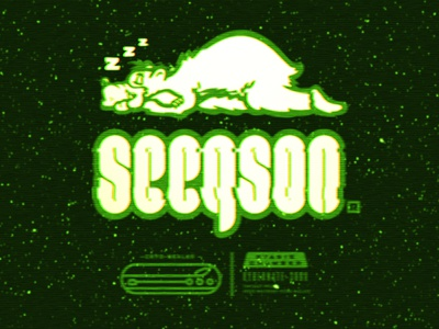 Seegson® 2 vector design logo branding type illustration lettering alien xenomorph space