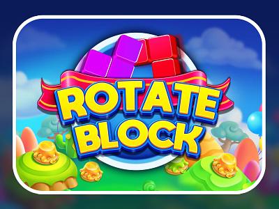 Rotate Puzzle Game game ui game logo