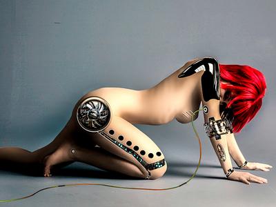 The Lusting Cyborg