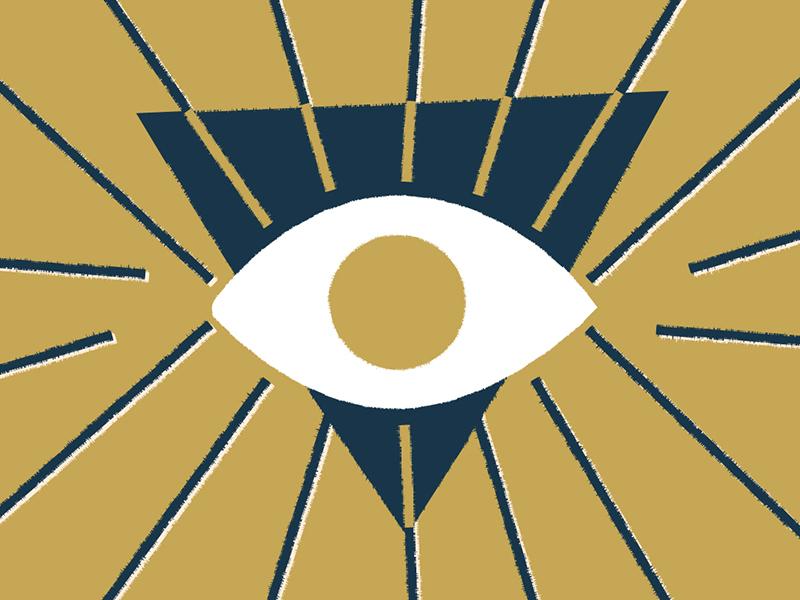 Minds Eye zen thirdeye openeye blink meditate meditation mindseye magic witchy eye texture illustration drawing