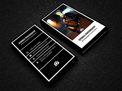 Photography Company Business Card