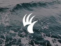 WaveHand Logo Design