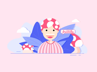 Hello dribbble!💗@AngelaDidi