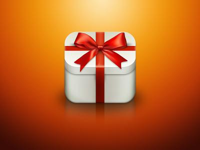 Christmass Gift App Icon app icon christmass ios design