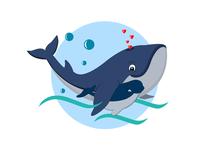 Whale illustration