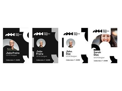 EXD Brand Exploration stationery uiux icon logoideas typography digital identity brand logo branding