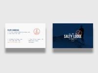 Salty Lodge Business Cards