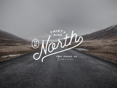 39ºNorth logo print identity graphicdesign icon logoideas design brand branding typography