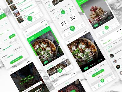 Recipe App Gatherlicious2 recipes cookbook interaction design skech digital userinterfacedesign userinterface userexperiance userexperiencedesign iphone app ui ux