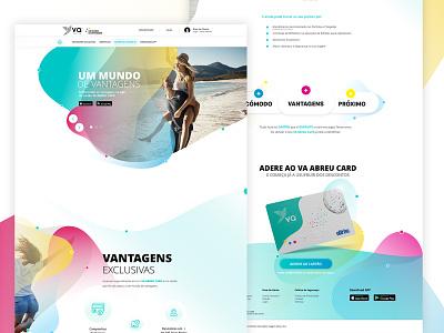 Declined Landing Page landing page concept design digital ux ui