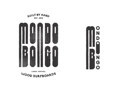MONDOBONGO - The ones that got away type identity vector typography logo branding