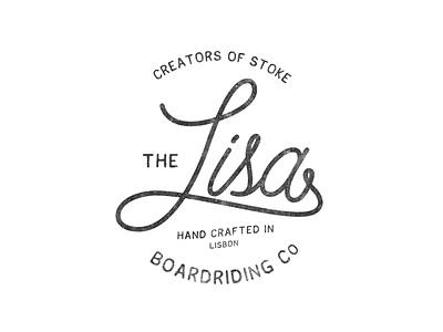 Lisa Surfboards - The Ones That Got Away surf lisa retro identity logo branding