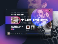 The Idles Music Player