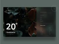 Weather App - Clima. typography interface degree font weather app weather colors palette illustraion design branding ux ui mobile app graphic colors app dribbble