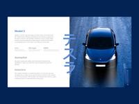 web exploration-Tesla feature blue web app web illustration mobile ui typography branding ux mobile app ui graphic colors dribbble tesla