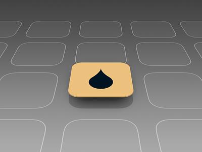 Isometric iOS App Icon Mockup branding vector illustration photoshop isometric design design ux designer seattle