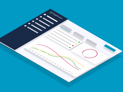 EagleView Dashboard figma isometric design systems ux