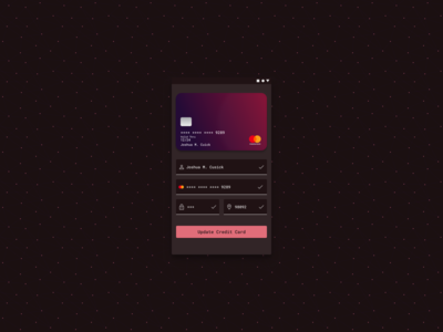 Daily UI Challenge -- Day 2