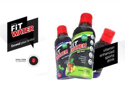 FitWater Product and Site