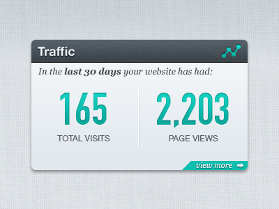 Traffic Pod V2 ui pod widget texture light gray stats