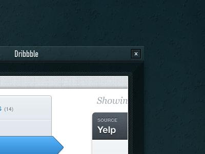 Modal Title Bar ui modal dark window widget close button title bar