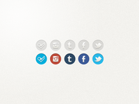 Social Icons for Glossi