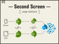 Second Screen Infographics