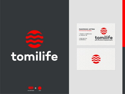 Tomilife — Logo design conditioning conditioner air japan branding logo logo design logotype