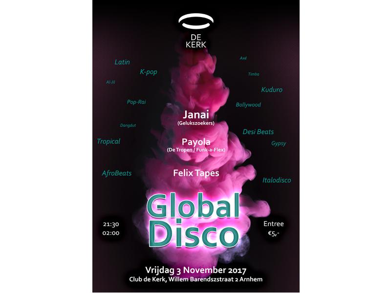 De Kerk Poster Global Disco