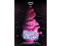 De Kerk Poster Global Disco