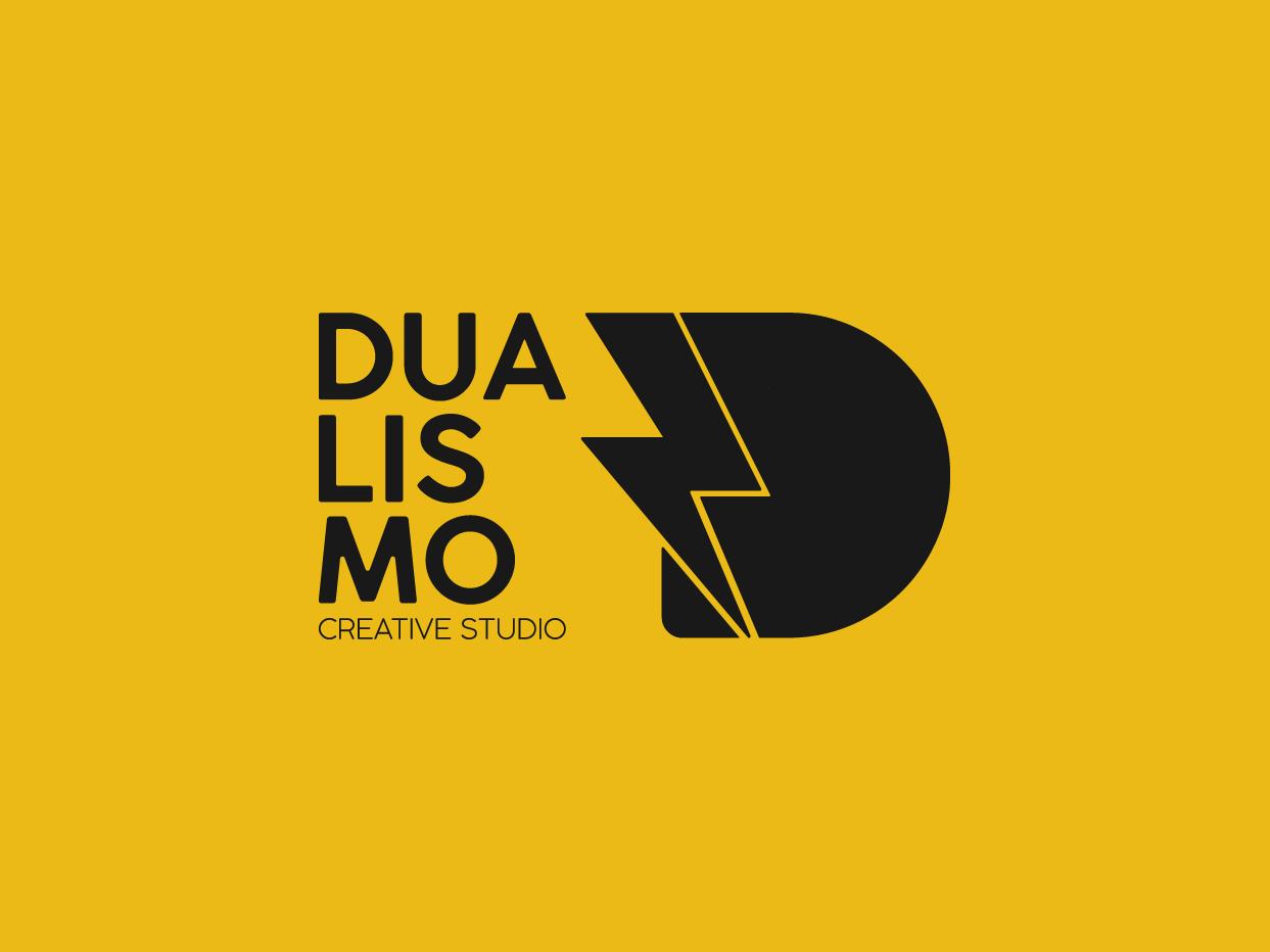 Dualismo Logo dual creative logo design photography logo photograhy studio logo bolt bolt logo d logo dualism typography creative logodesign logo design branding design branding and identity branding