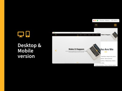 Makarya UI Kit - The Story Behind (Pt.4) website design user experience user interface ui kit design ui kit landing page ui landing page