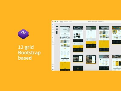 Makarya UI Kit - The Story Behind (Pt.5) ui8 ui8net responsive web design mobile design desktop design adobexd prototype responsive bootstrap ui kit design ui kit landing page