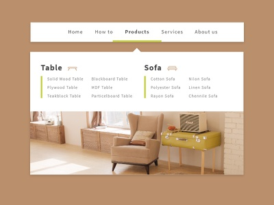 Daily UI #027 | Dropdown adobexd dailyui dropdown user experience website design dropdown menu user interface