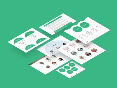 NSCC - User Interface Redesign bootstrap landing page uiux flat design website design user interface user experience