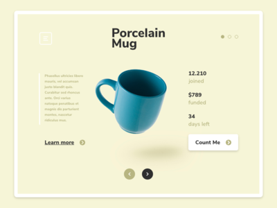 Daily UI #032 | Crowdfunding Campaign