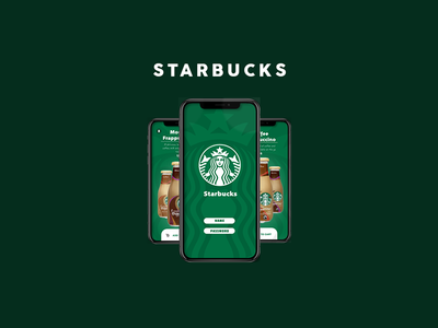 Starbucks UI Design Trial