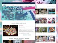 Tecidos em Harmonia - Website
